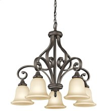 Monroe Collection Monroe 5 Light Chandelier OZ