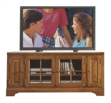 Visions 60-Inch TV Console Medium Distressed Oak finish