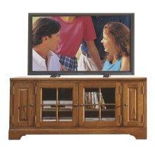 Visions 60-Inch TV Console Medium Distressed Oak finish