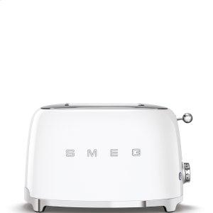 2x2 Slice Toaster, White -
