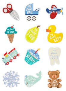 My First Achievements Belly Stickers (12 pc. set)