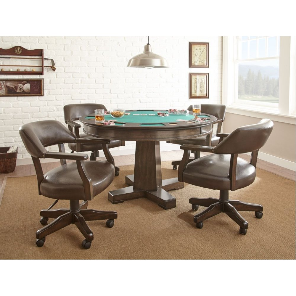 """Ruby Game Table Top 52""""Round"""
