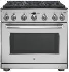 "GE Cafe™ Series 36"" Dual Fuel Professional Range with 6 Burners (Natural Gas) Product Image"