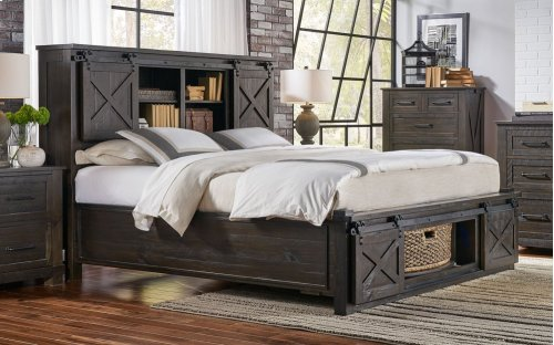 QUEEN ROTATING STORAGE BED