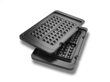Livenza All Day Grill Waffle Plates