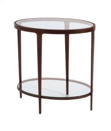 Ellipse End Table