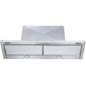 DA 3496 - Built-in ventilation hood with energy-efficient LED lighting and backlit controls for easy use.