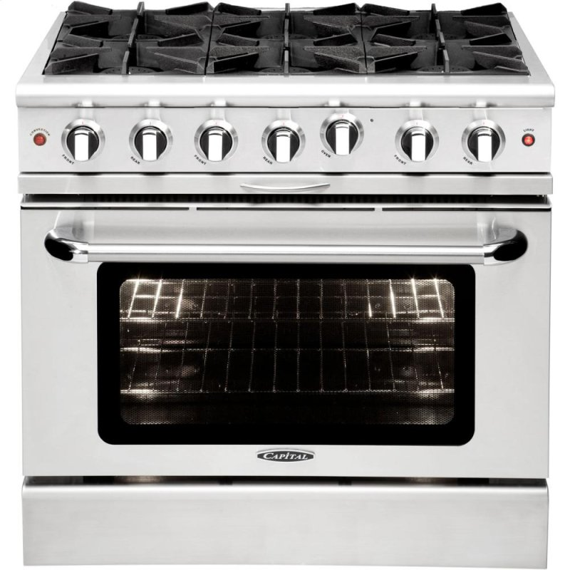 36 Gas Range >> Mcor366l In By Capital In New Milford Ct 36 Gas Range With 6