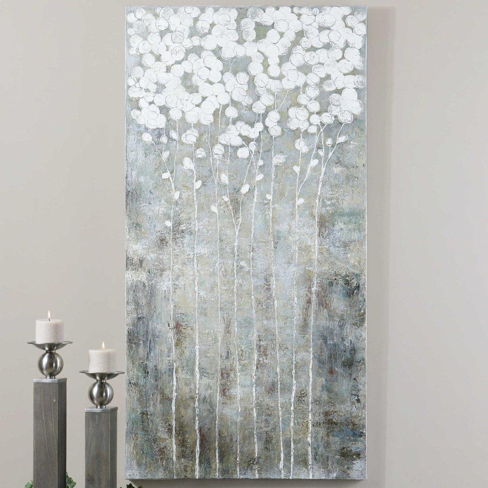 Cotton Florals Hand Painted Canvas