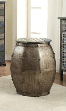 114-227  Calypso Barrel Table