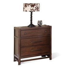 Tranquility Three Drawer Nightstand Candlelight Cherry finish