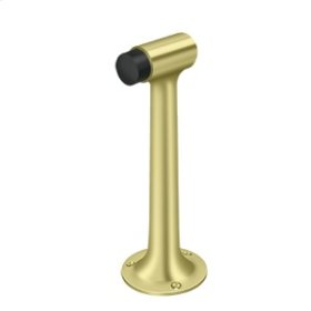"Floor Mount, 8"" Bumper, HD, Solid Brass - Polished Brass"