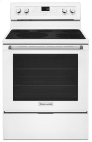 30-Inch 5-Element Electric Convection Range - White Product Image