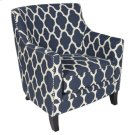 Cassie Blue Accent Chair, AC143A Product Image