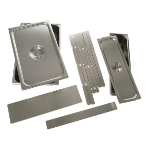 GEWarming Drawer 2 Pan Set with Lids
