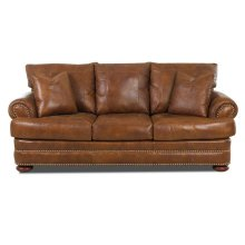 LTD43800-10 S Montezuma Sofa w/Lthr