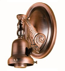 "4"" WIDE 1 LT WALL SCONCE HARDWARE"