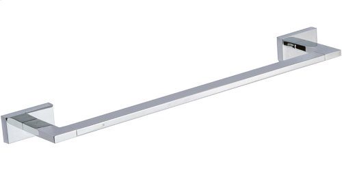 Axel Bath Towel Bar 18 Inch Single - Polished Chrome