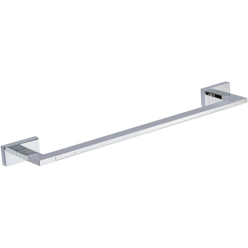 Axel Bath Towel Bar 18 Inch Single - Polished Chrome
