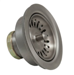"""3-1/2"""" Deluxe Stemball Kitchen Sink Strainer - PVD Brushed Bronze"""