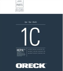 Oreck® Venture™ and Venture Pro™ HEPA Media Vacuum Cleaner Bags