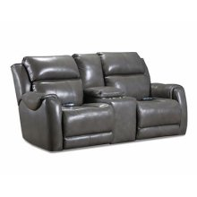 Power Console Loveseat with Power Headrest, Power Lumbar and SoCozi Massage Upgrade