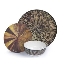 Tribal Melamine Dinnerware 3pc Set