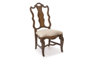 Continental Splat Back Side Chair - Weathered Nutmeg