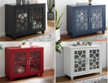 """Tuscany Accent cabinet Black 38""""X15.75""""X32"""""""