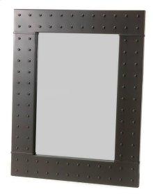 Merrimack Rivet Iron Wall Mirror