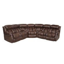 3 Power Recliners with 2 Storage Wedges