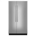 "JENN-AIR48"" Built-In Side-by-Side Refrigerator"