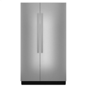 "Jenn-Air48"" Built-In Side-by-Side Refrigerator"