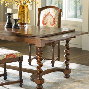 11161 In By Mackenzie Dow Fine Furniture In Newhall, CA   Refectory Table  With Barley Twist Legs