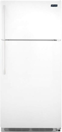 Crosley Top Mount Refrigerator - Black Stainless