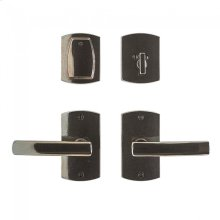 """Convex Entry Set - 2 1/2"""" x 4 1/2"""" Silicon Bronze Brushed"""