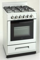 "Model DG2451W - 24"" Deluxe Gas Range - Elite Series Product Image"