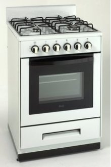 "Model DG2451W - 24"" Deluxe Gas Range - Elite Series"