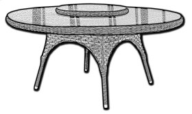 "EL DORADO 67"" TABLE BASE"