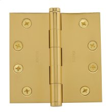 Polished Brass Square Corner Hinge
