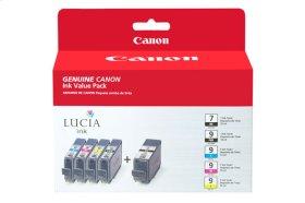 Canon PGI-9/PGI-7 Ink Value Pack (5 Ink Tanks) PGI-9 and PGI-7 Value Pack