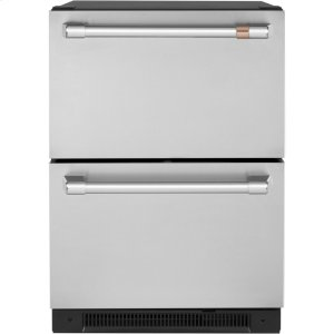 Cafe AppliancesCaf(eback) 5.7 Cu. Ft. Built-In Dual-Drawer Refrigerator