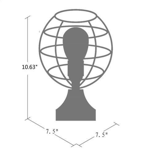"""Lawson LAW-002 10.625""""H x 7.5""""W x 7.5""""D"""