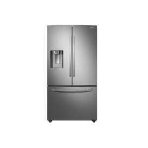 Samsung28 cu. ft. 3-Door French Door, Full Depth Refrigerator with Dual Ice Maker in Stainless Steel