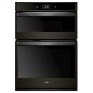6.4 cu. ft. Smart Combination Wall Oven with Touchscreen - FINGERPRINT RESISTANT BLACK STAINLESS