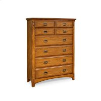 Bedroom - Pasadena Revival Six Drawer Chest Product Image