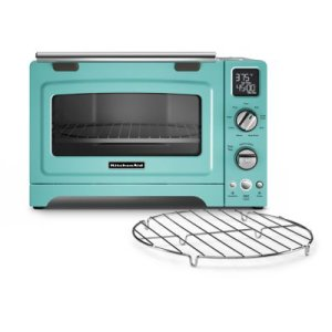 "KITCHENAID12"" Convection Digital Countertop Oven - Aqua Sky"