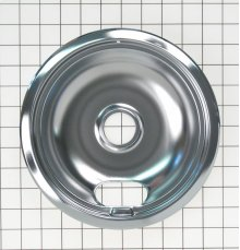 8 INCH CHROME BURNER BOWL ELECTRIC