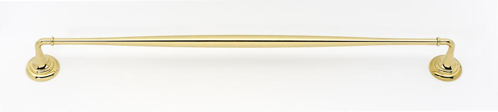 Charlie's Collection Towel Bar A6720-24 - Polished Brass