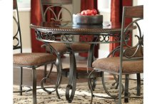 Round Dining Room Table & 4 Chairs